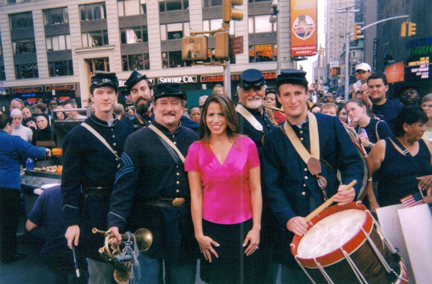 "3rd New Jersey Fifes and Drums Performs on ""Good Morning America"""